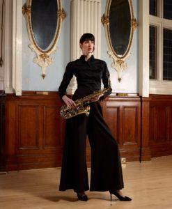 Eleonore palazzo trousers and Nadia shirt