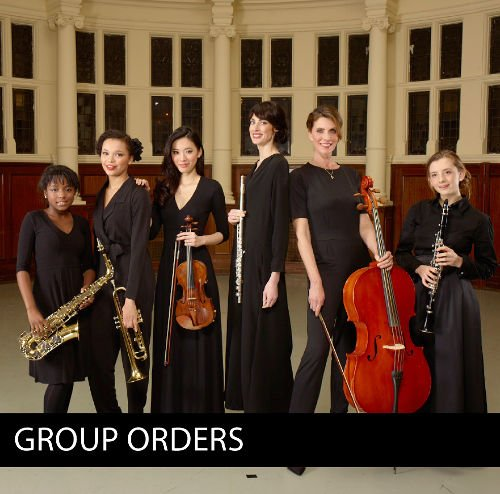 Group orders - concert clothing for schools, choirs and orchestras