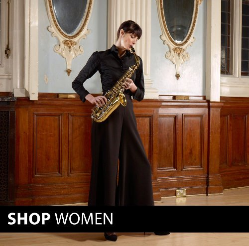 Women's black clothing - dresses, skirts, trousers, jumpsuits, tops