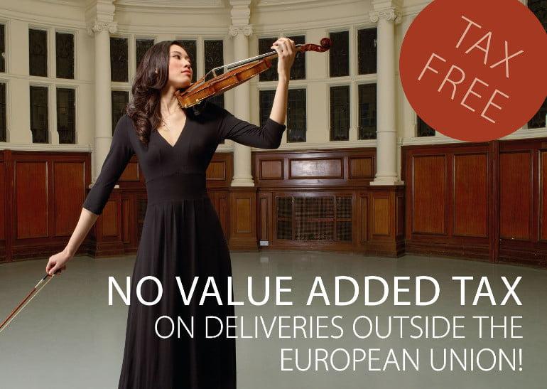 Black Dress Code - no VAT outside of EU