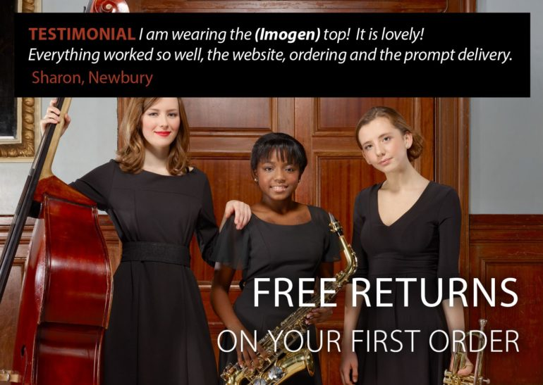Black Dress Code - free returns