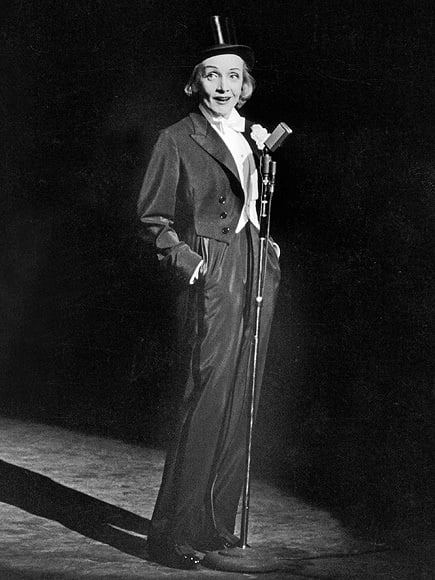 Gender-neutral uniforms - Marlene Dietrich
