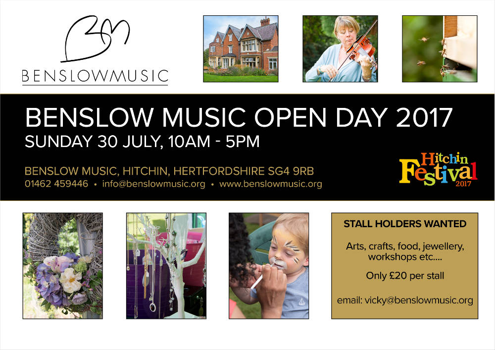 Benslow Music Day 2017
