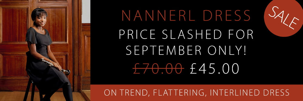 Black Dress Code - special offer on Nannerl dress