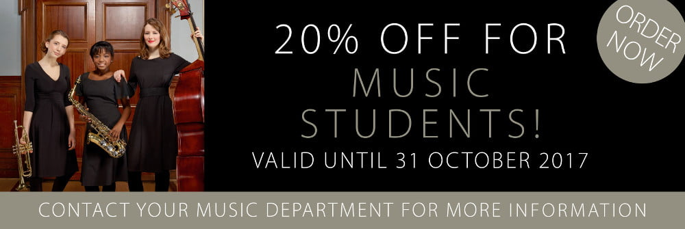 Black Dress Code - special offer for students