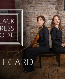Black Dress Code Gift Card