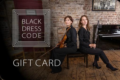 Black Dress Code Gift Card